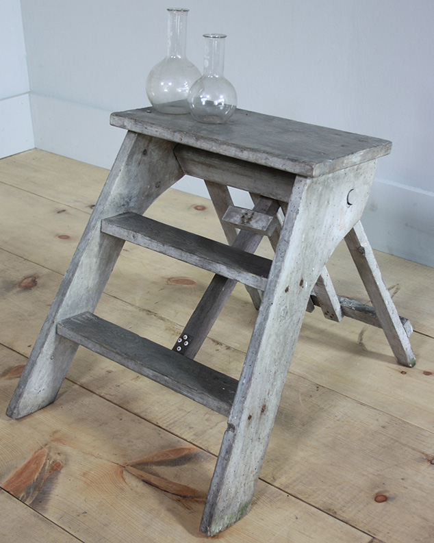 Sensational Turner And Cox 1930S Library Step Ladder Sourced From Gmtry Best Dining Table And Chair Ideas Images Gmtryco