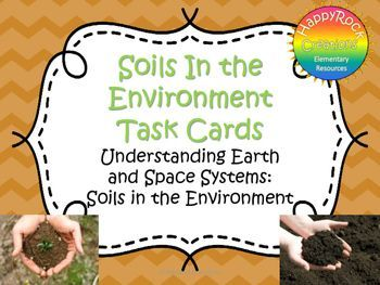 soils in the environment grade 3 unit