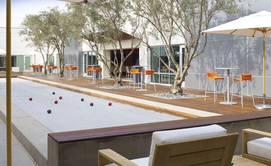 outdoor campus amenities - google