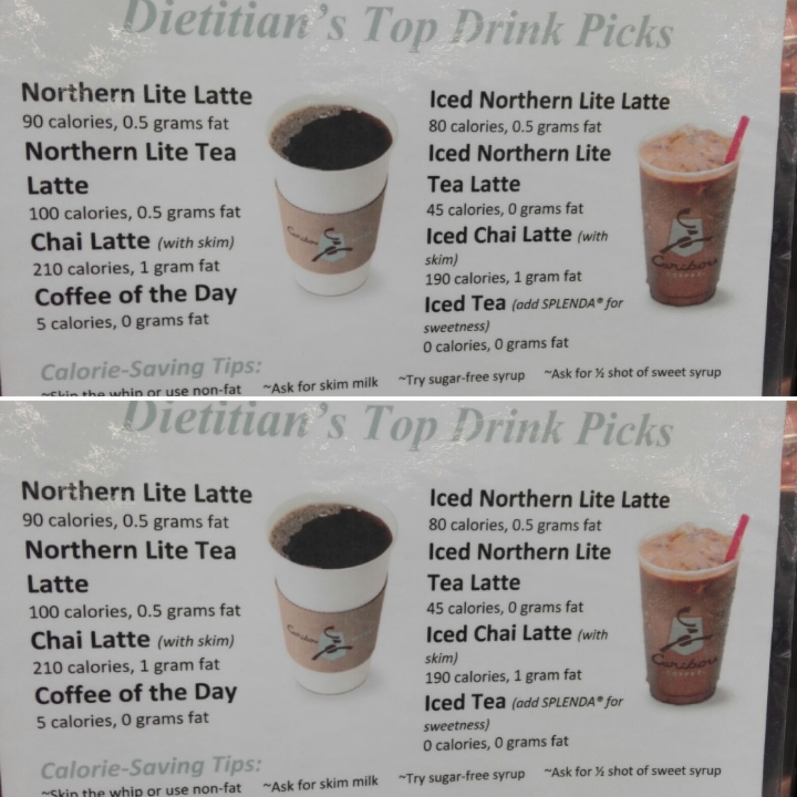 Best Choices At Caribou Coffee According To A Dietitian Caribou Coffee Drinks Caribou Coffee Coffee Drinks