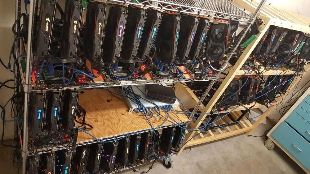 cryptocurrency mining hardware gpu