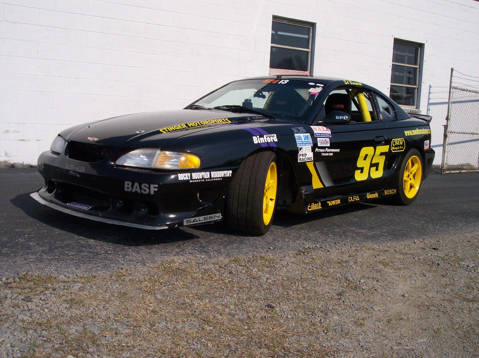 1997 saleen 217 ford mustang race car for sale