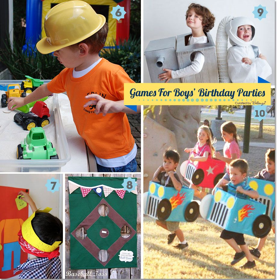 Fun Games and Activities for Boys Birthday Parties Activities