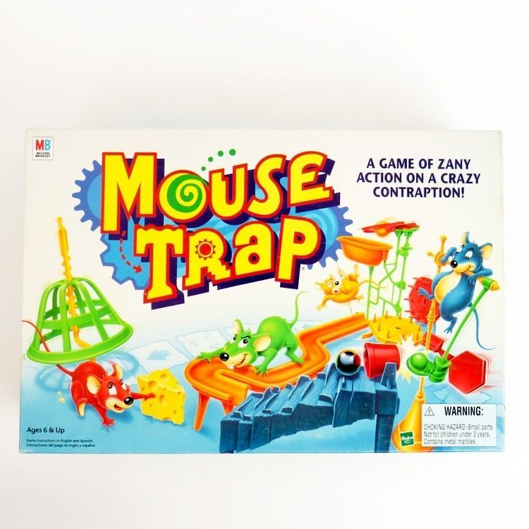 How To Build The Trap In The Mouse Trap Game Hasbro Gaming Youtube Mouse Trap Game Mouse Traps Hasbro