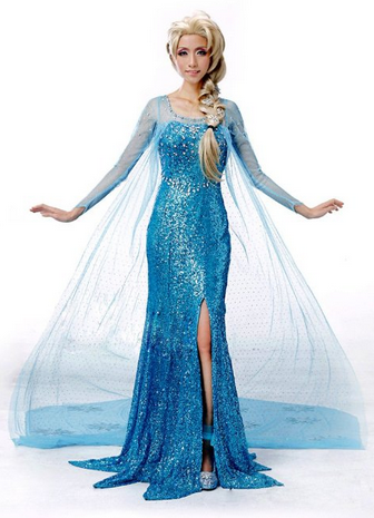 Costume Ideas for Women How to Cosplay as Queen Elsa from Disneyu0027s Frozen  sc 1 st  Pinterest & Costume Ideas for Women: How to Cosplay as Queen Elsa from Disneyu0027s ...