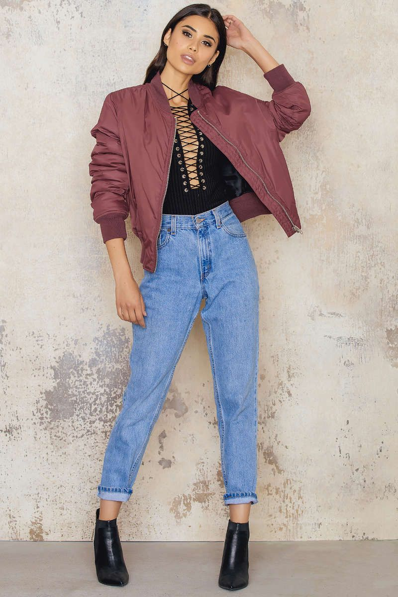 This awesome bomber jacket is a must have in your closet! Price Kate bomber…