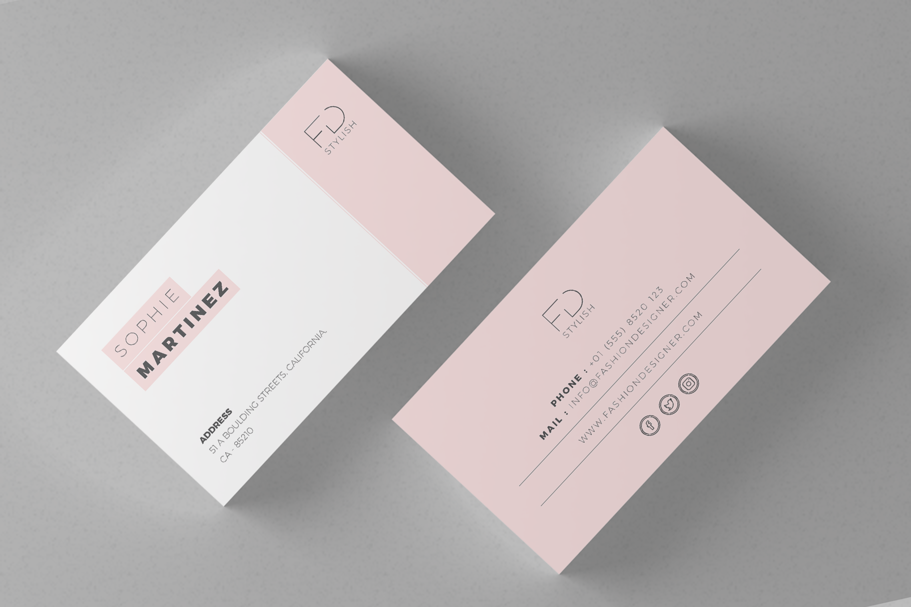 Minimalist Business Cards Graphic By Onedsgn Creative Fabrica Business Card Minimalist Minimalist Business Cards Business Card Design