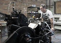 Image result for Old-Fashioned Letterpress Printing
