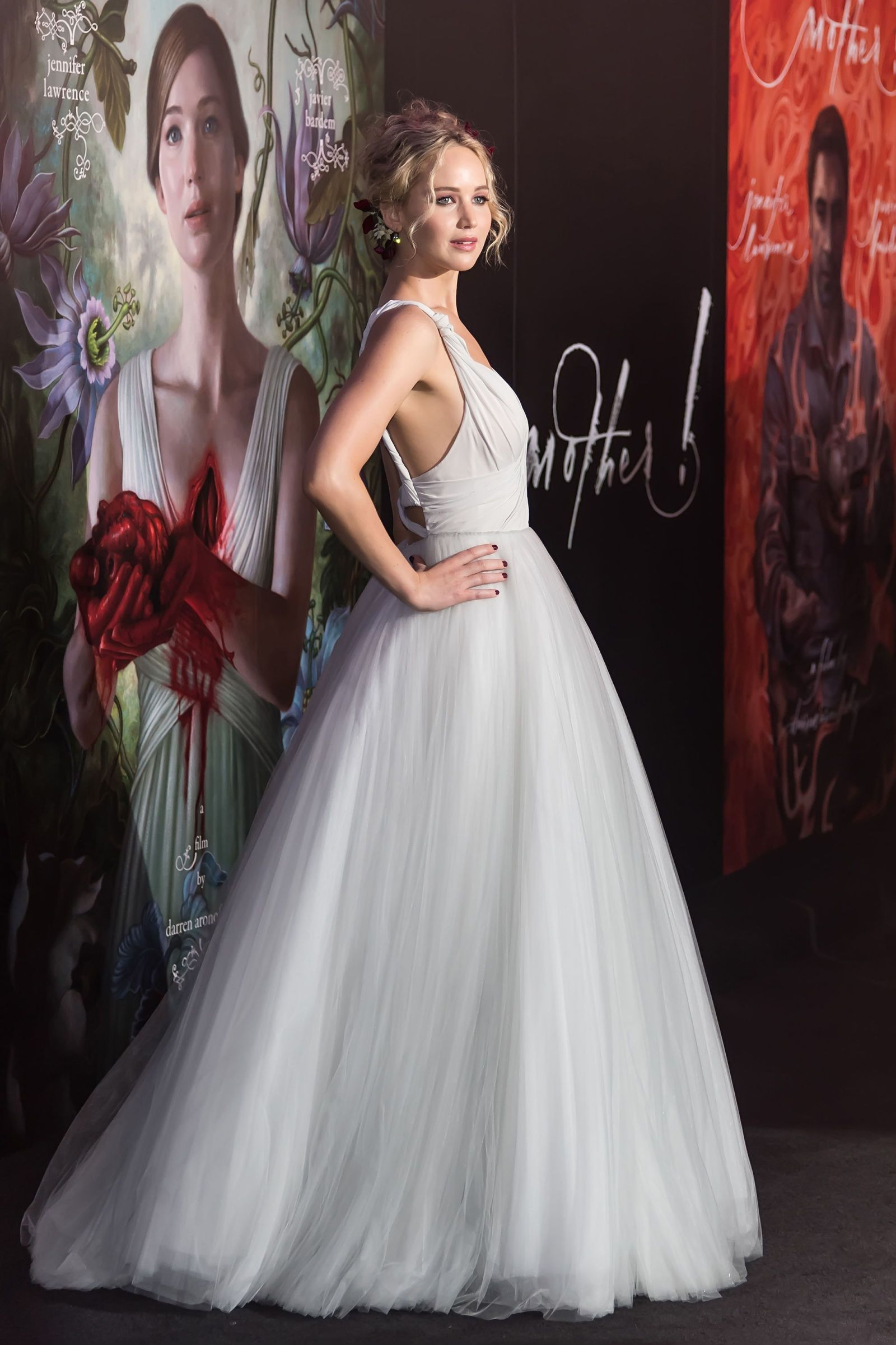 See Jennifer Lawrence S Wedding Dress From All Angles With