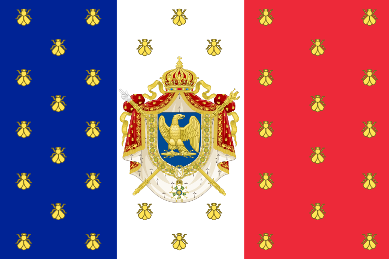 French Flag French Empire Historical Flags Napoleon