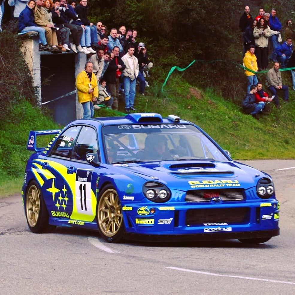 Sevenspeed On Instagram Subaru Impreza S7 Wrc 01 Petter Solberg Phil Mills Tour De Corse 2002 Subaru Impreza Subaru Subaru Wrc