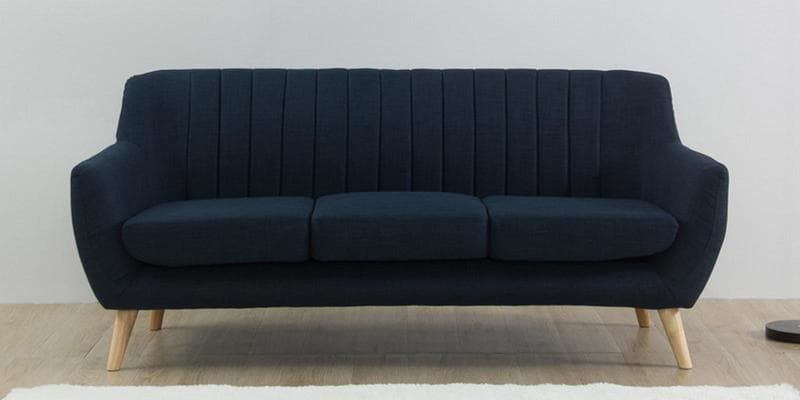 Best Managua 3 Seater Sofa In Blue Colour By Casacraft Three 640 x 480