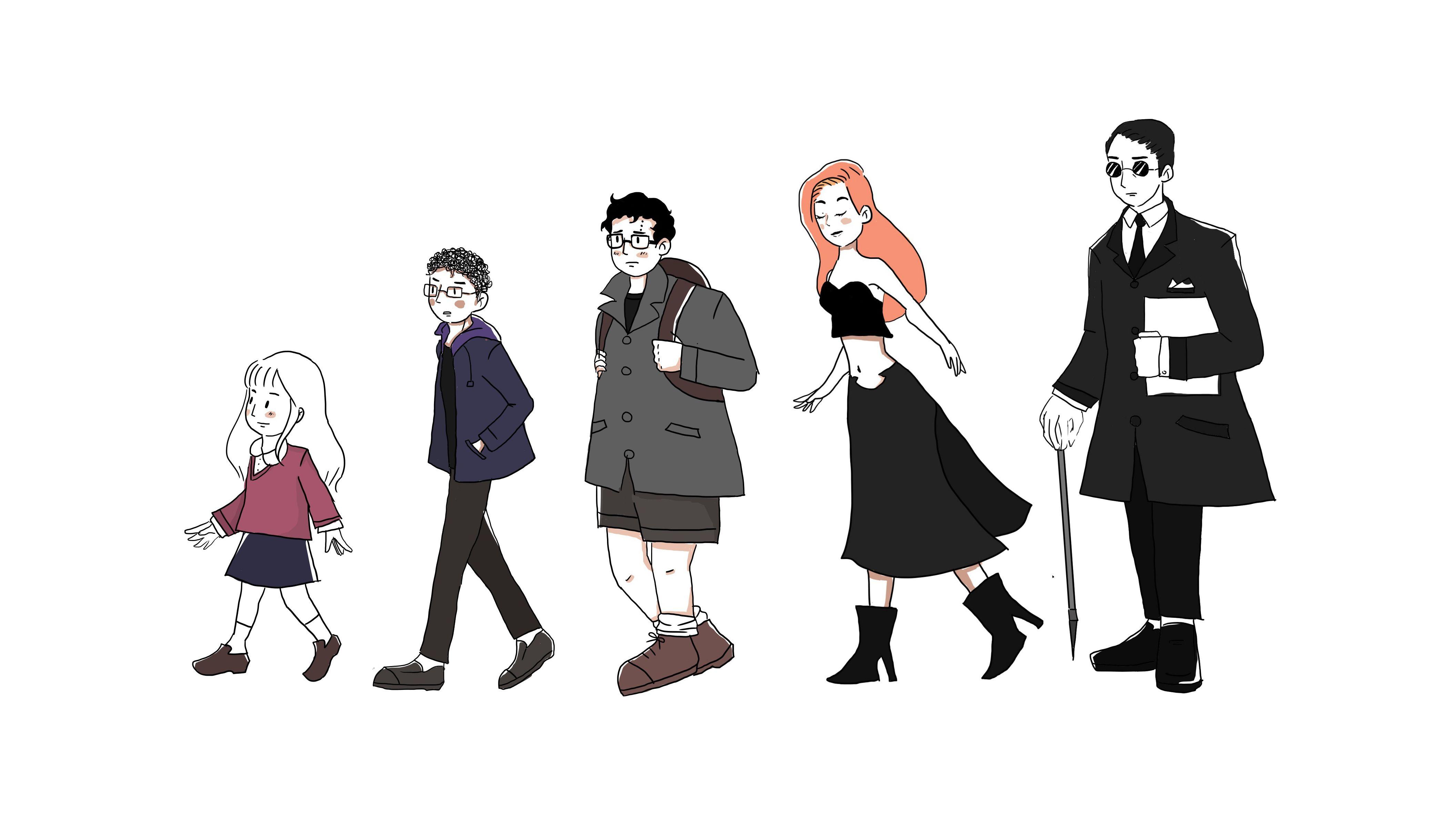 Personajes de la obra Demoncello