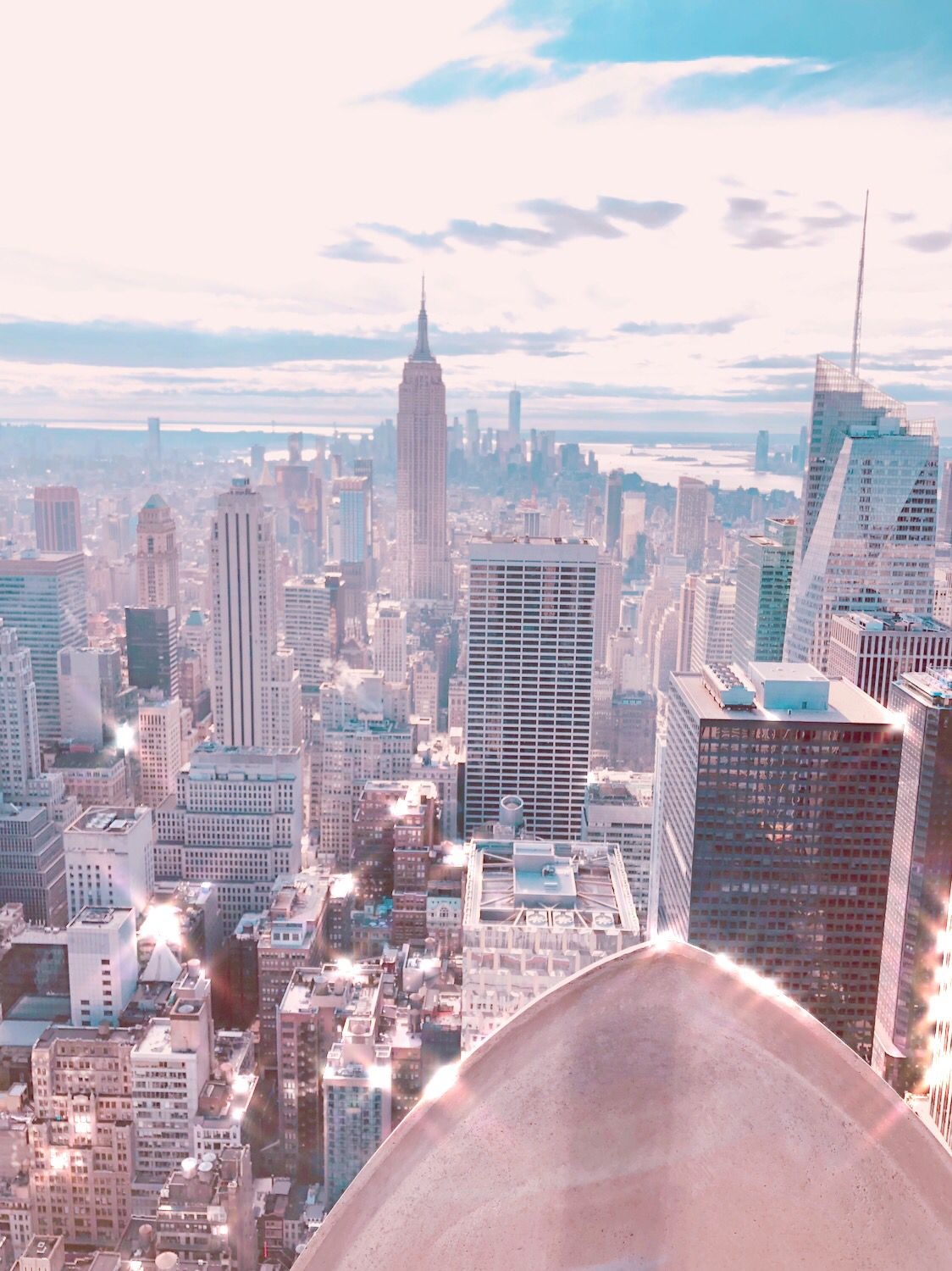 Travel Archives Nyc Skyline Top Of The Rock Aesthetic Pictures Aesthetic Wallpapers Bedroom Wall Collage