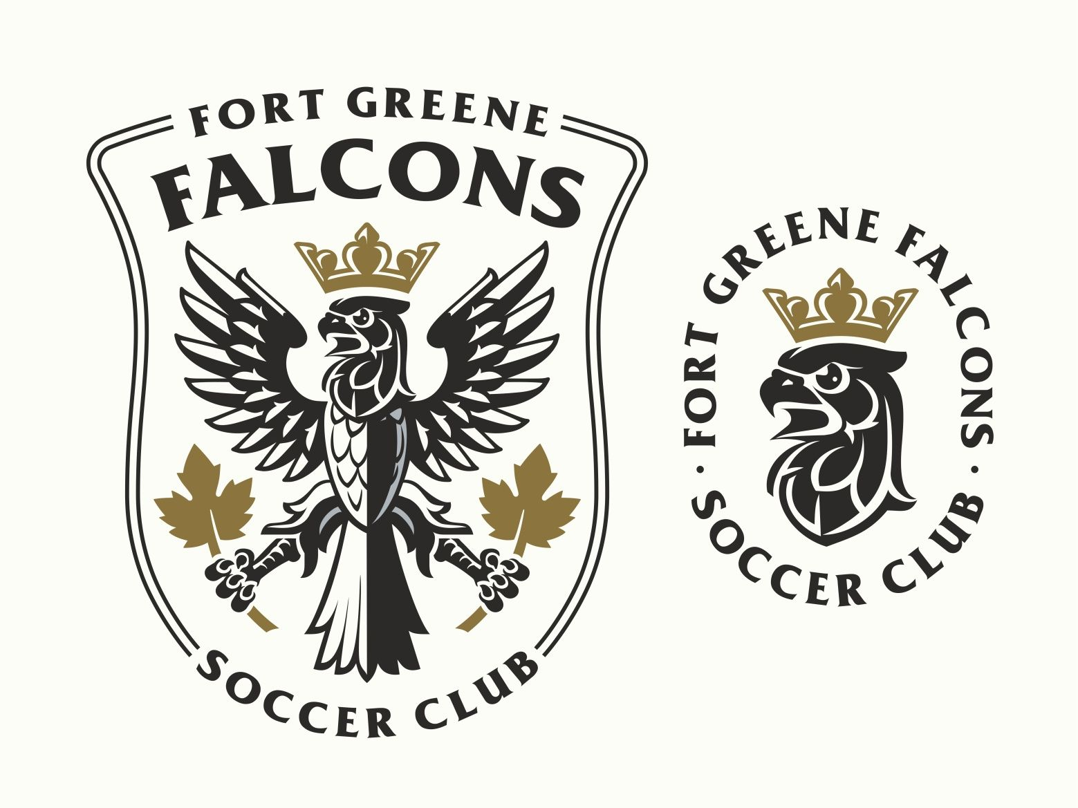 Falcons Soccer Club Logo In 2020 Soccer Club Lion Logo Circle Logos
