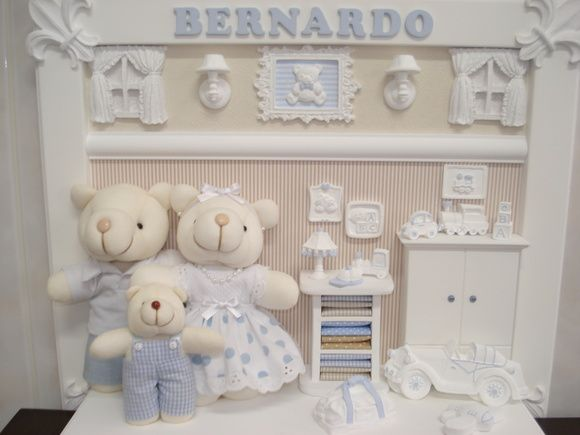 Armario Guarda Volume De Aço ~ Quadro para decoraç u00e3o de quarto infantil ou porta maternidade em mdf branco com diversos