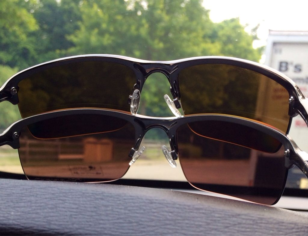 oakley polarized vs iridium