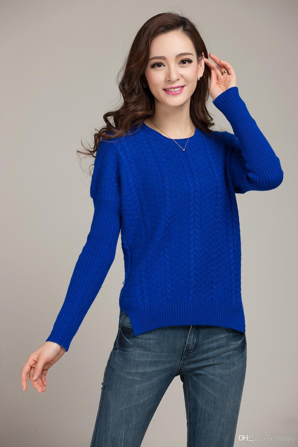 spring-women-sweater-cashmere- | Blue Sweater | Pinterest | Spring ...