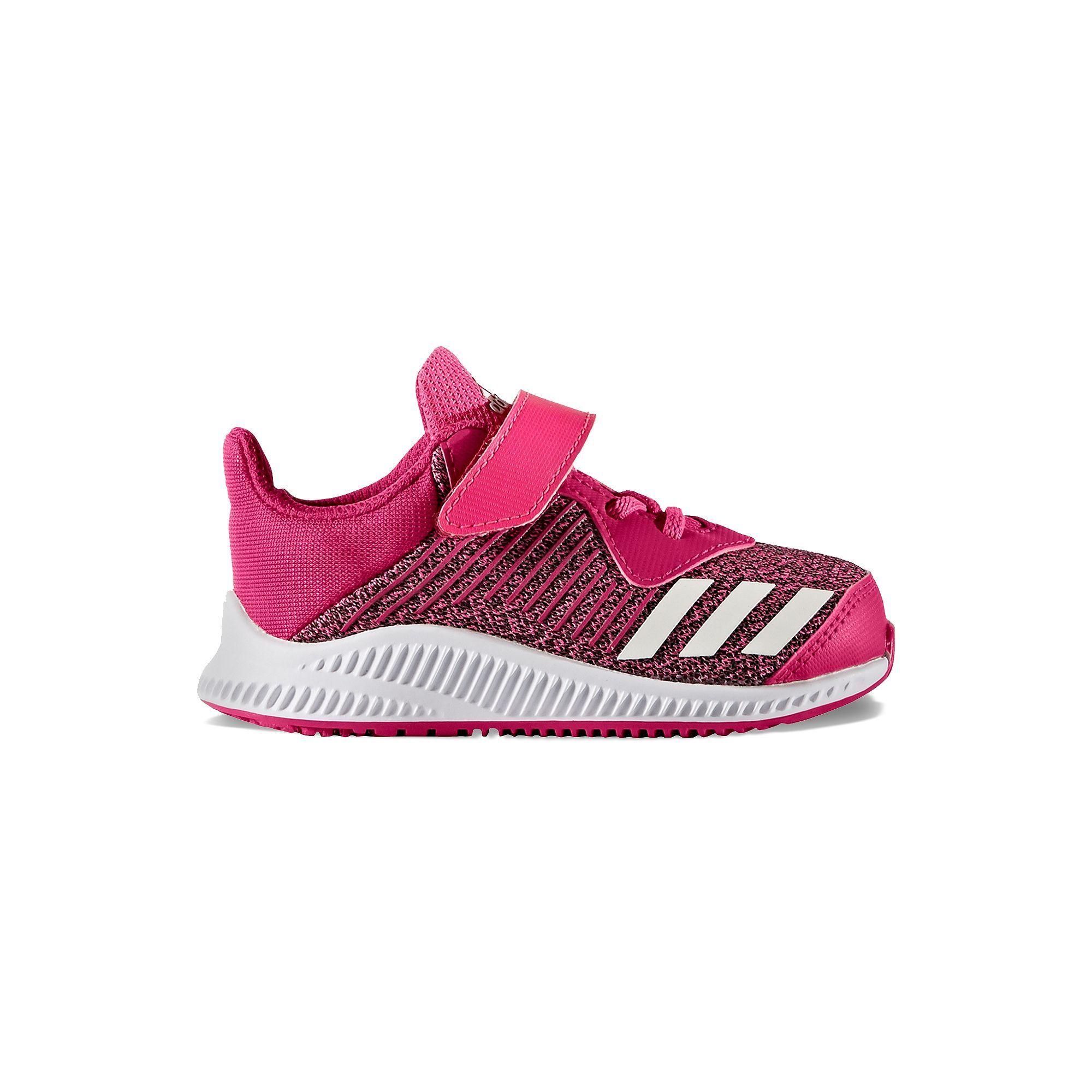 Adidas Forta Run EL Toddler Girls' Running Shoes, Size: 10 T, Brt Pink