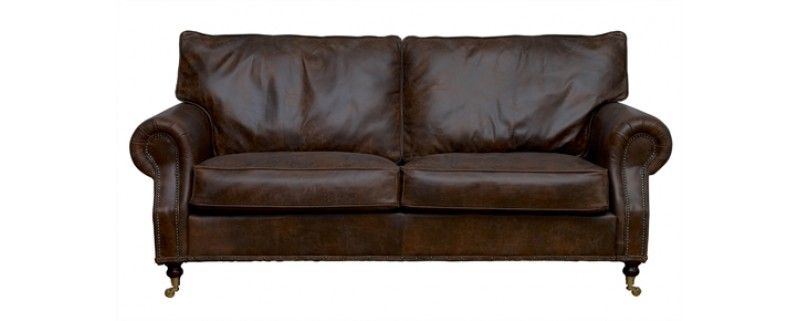 Best Arlington Vintage Leather Sofa £980 Vintage Leather 640 x 480