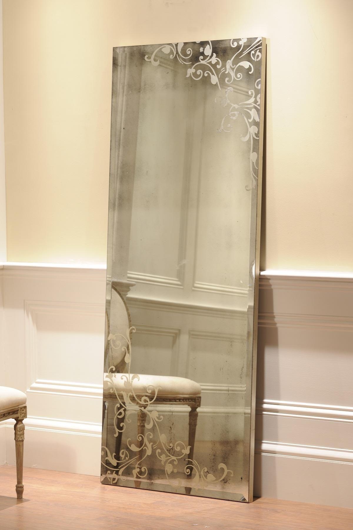 Vintage Look I Love This Contemporary Floor Mirrors Mirror