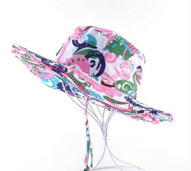 04b3a38124f Wide Brim Breathable Beach Hat For Men Bob Women Outdoors Casual Fishing  Hiking Sun-proof