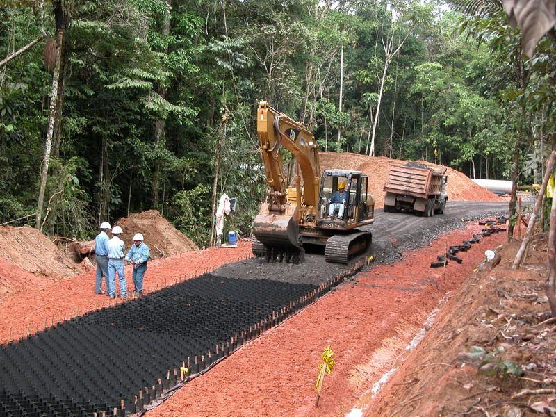 Building Unpaved Roads Off Grid House Porous Pavement Pavement Design