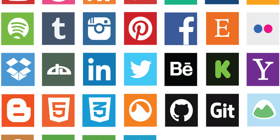 Social Media Square Icons Scaretissue Social Media Icons Social Media Icons Free Media Icon