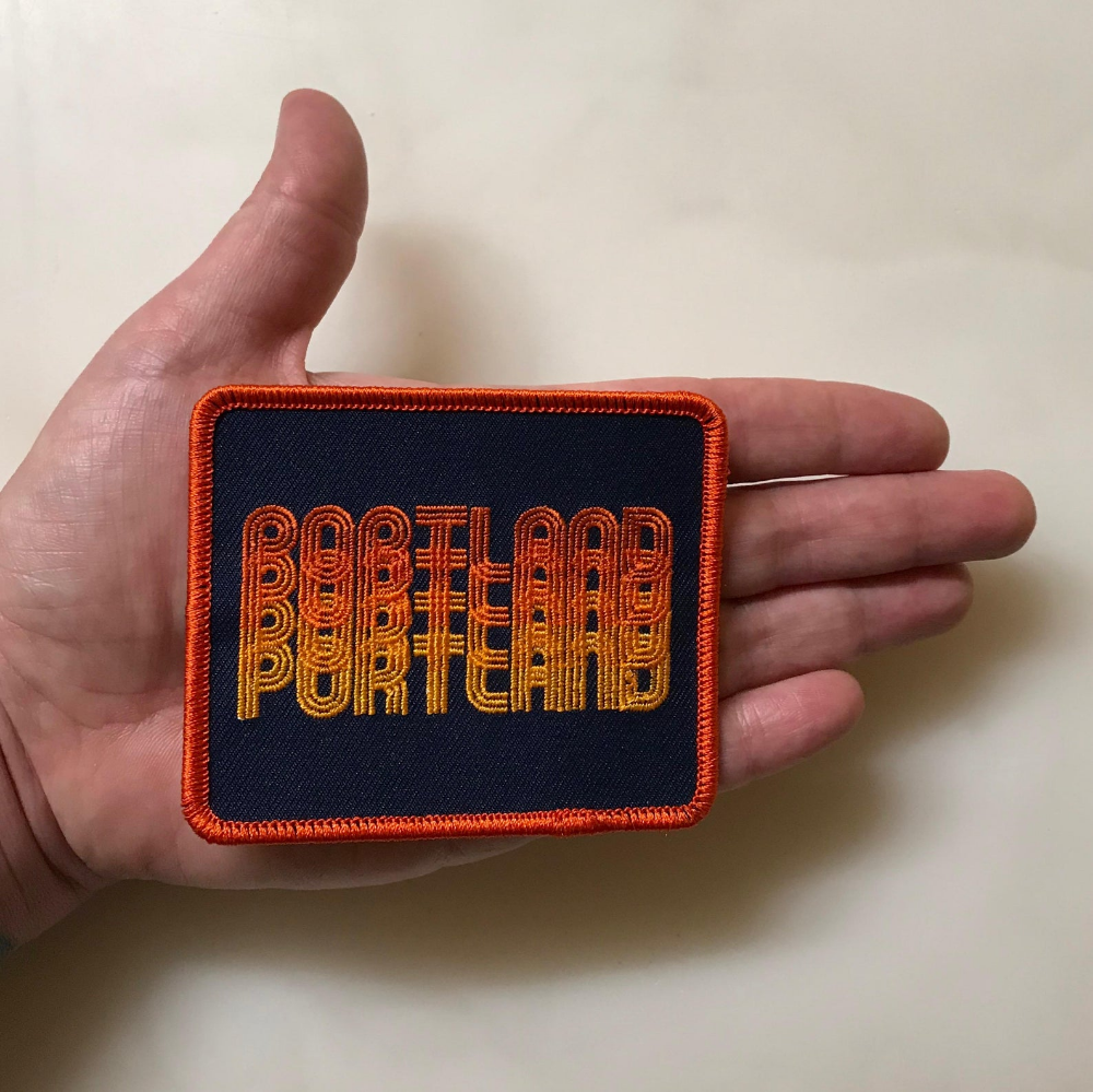 Portland Fade Iron-On-Patch