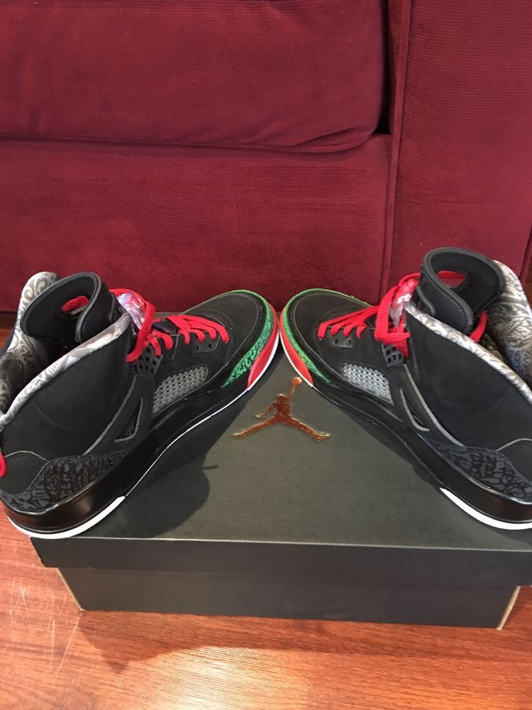 Air Jordan Spizike Spizike Black Varsity Red Classic Green 315371-026 Size  10.5  fashion  clothing  shoes  accessories  mensshoes  athleticshoes (ebay  link) 0b5a8c201