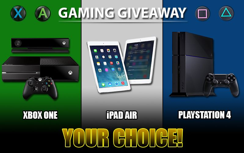 Enter Gaming Giveaway to Win an Xbox