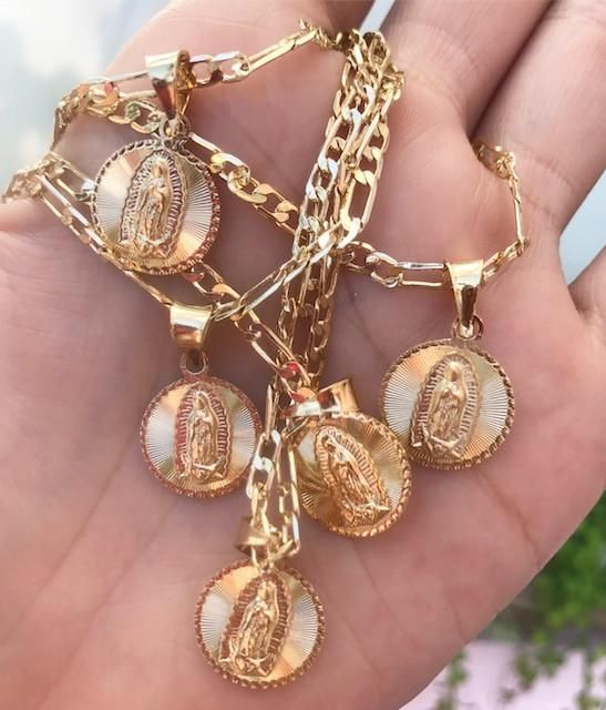 La Virgen De Guadalupe Lexy Sv Necklace Quinceanera Jewelry Jewelry Fashion Jewelry