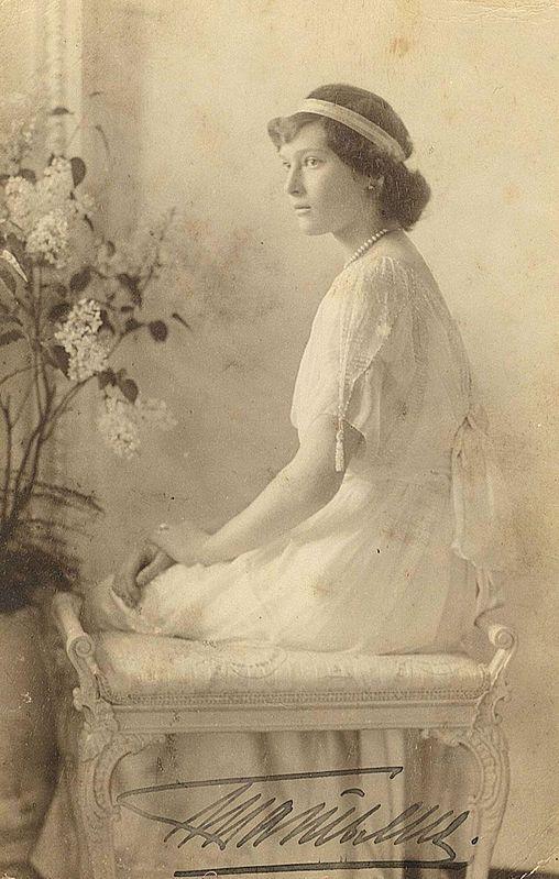 Tatiana Nikolaevna Romanov in 1914