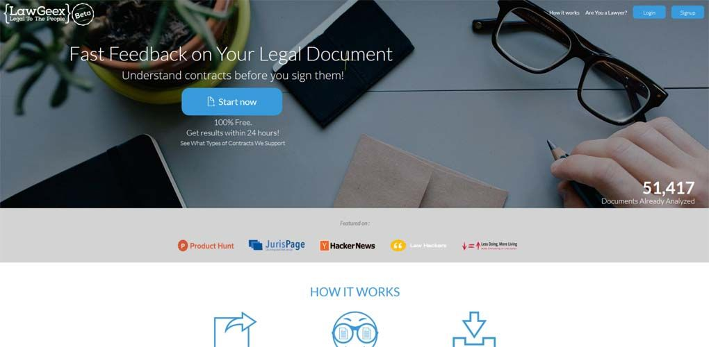 LawGeex – automated review of #legal #documents http://www.start4app.pl/lawgeex-review-of-legal-documents/