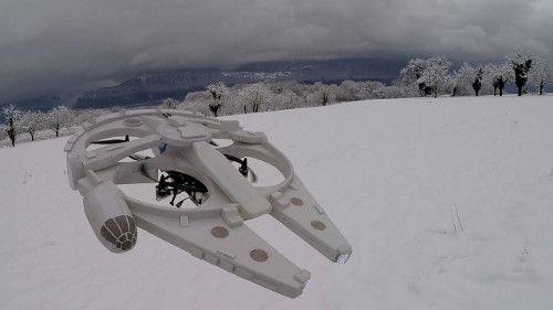 DIY: Star Wars Millennium Falcon Drone.