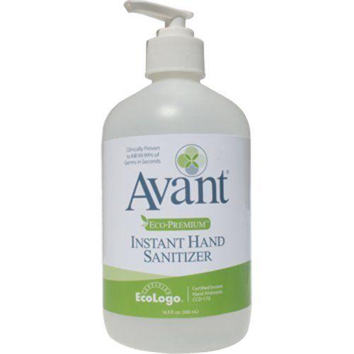 Avant Eco Premium Instant Hand Sanititizer 12 16 9 Oz Bottles By