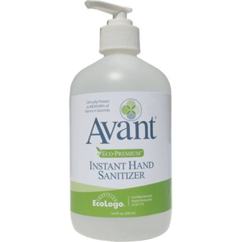 Avant Eco Premium Instant Hand Sanititizer 12 16 9 Oz Bottles By