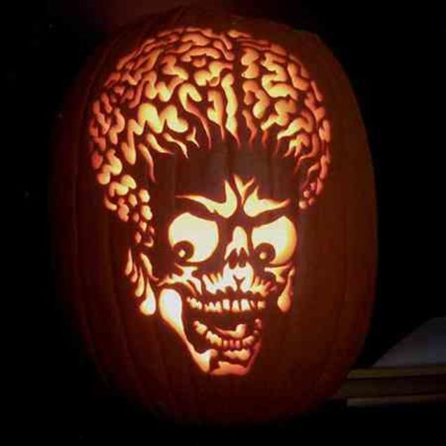 Fantasy pumpkin carving patterns