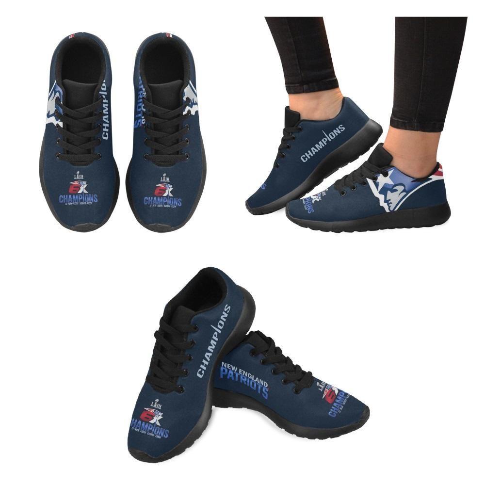 New England Patriots 6X Champs Sneakers