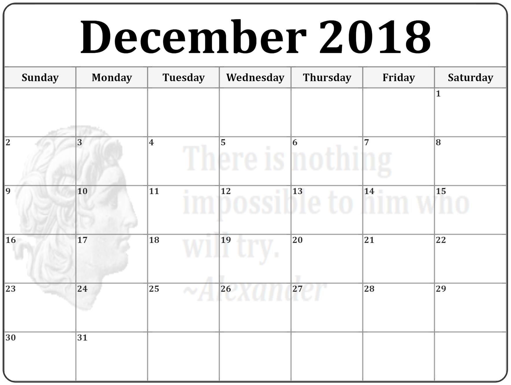 Dec 2018 Calendar Australia Printable Calendar Calendar