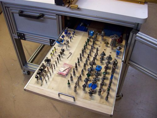 The Basement #11: Incra Router Table - Bit Storage - by JL7 @ LumberJocks.com ~ woodworking community