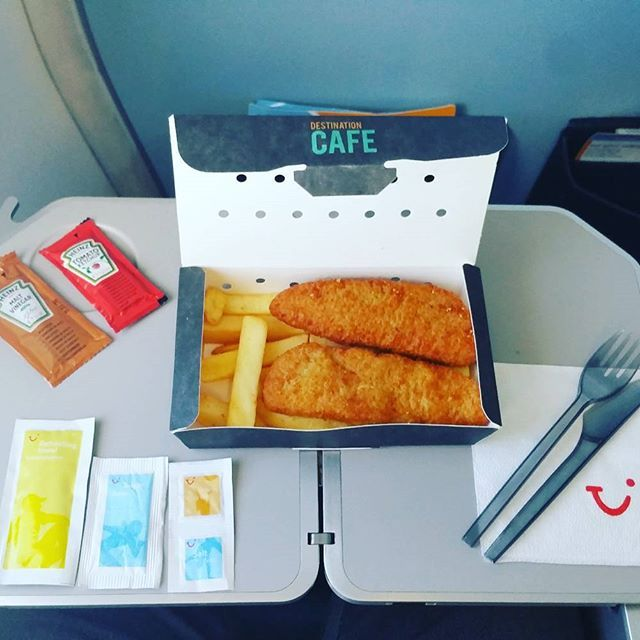 Thomson Inflight Meals >> Fish And Chips Thomson Airways Inflightfeed