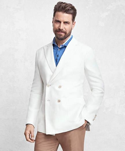 Golden Fleece® Double Breasted Twill Sport Coat