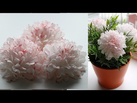 How to make small tissue paper flower diy paper craft youtube how to make small tissue paper flower diy paper craft youtube mightylinksfo