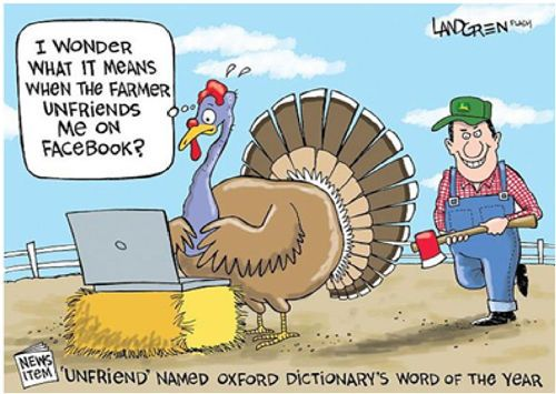 Funny Thanksgiving Quotes Simple When The Farmer Unfriends Me Turkey Thanksgiving Pictures Happy