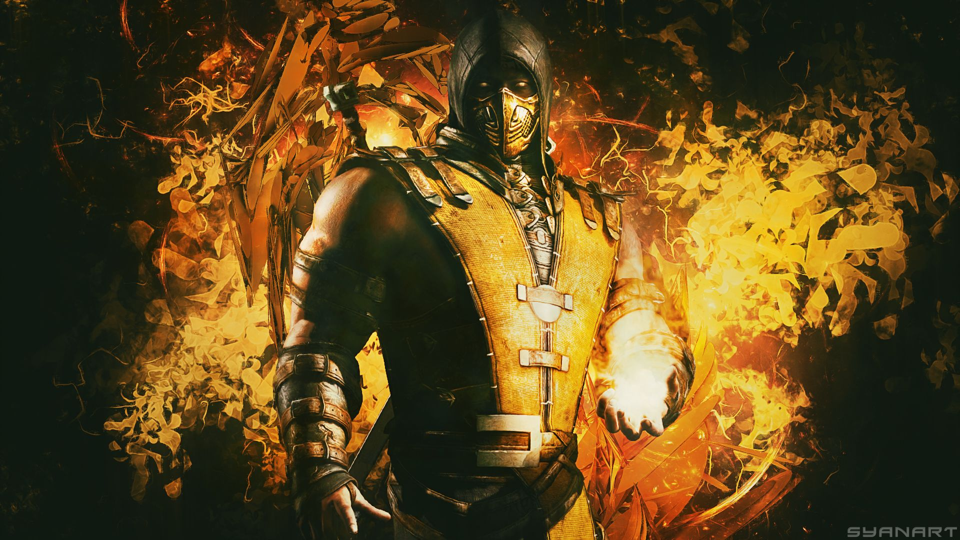 Mortal Kombat Scorpion wallpaper Mortal Kombat
