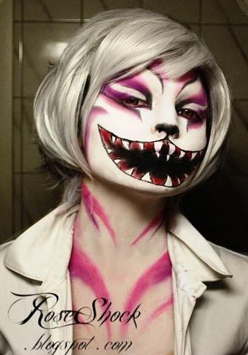 best and scary halloween makeup ideas 2017 - Scary Cat Halloween Costume