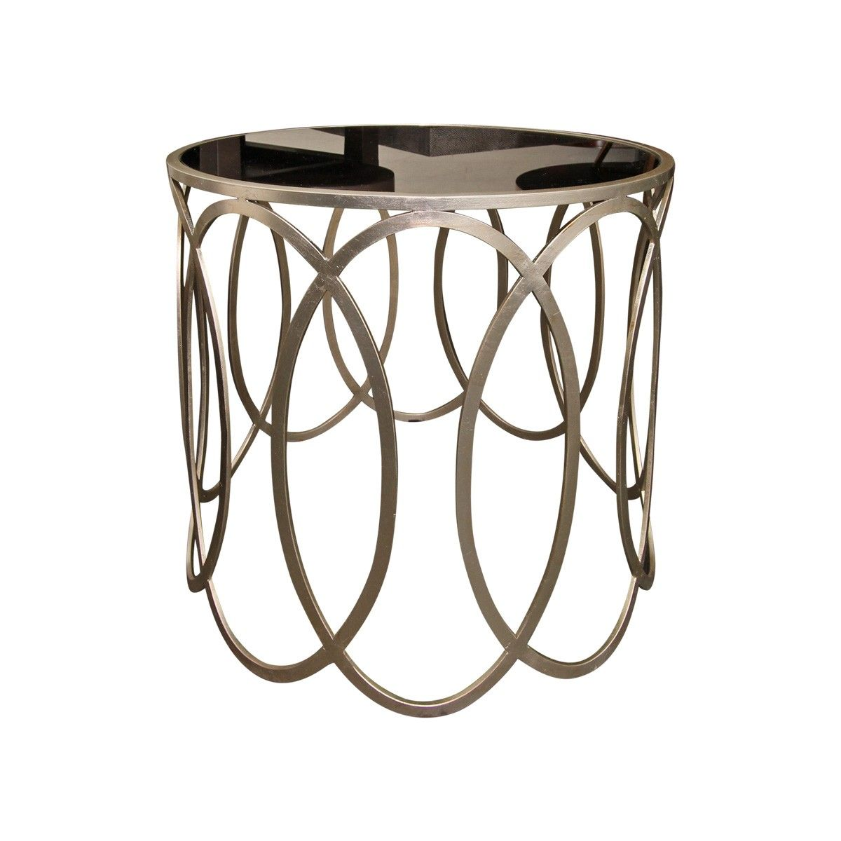 Gabby Home Mirrored Top End Table | deco salon | Pinterest