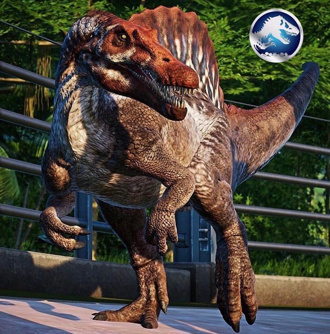 Spinosaurus jurassic world evolution Jurassic park world