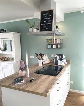 Kitchendreams- 10 Fakten über meine Küche im modernen Landhausstil Read more... #wohnungküche